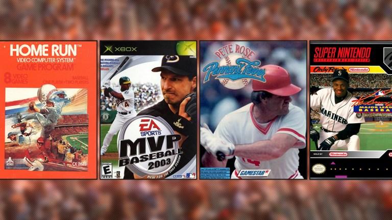 History of Baseball Video Games
