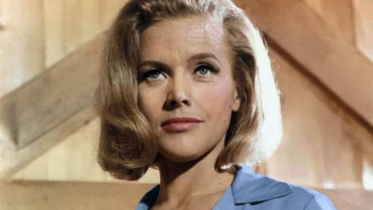Honor Blackman in Goldfinger