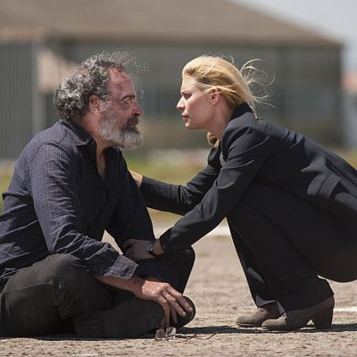 Legacy of Homeland Carrie Mathison and Saul Berenson