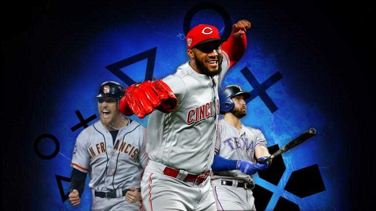MLB Players League Amir Garrett Hunter Pence Joey Gallo