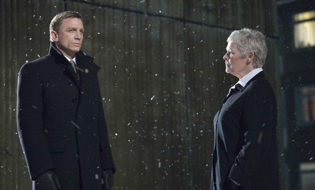 Daniel Craig y Judi Dench en Quantum of Solace