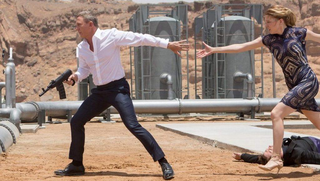 Daniel Craig y Lea Seydoux en Spectre