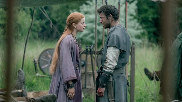 Eadith and Eardwulf in The Last Kingdom season 4