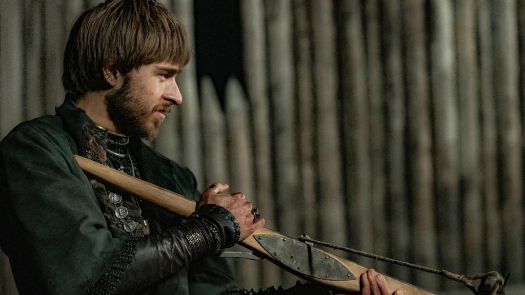 Ossian Perret in The Last Kingdom season 4