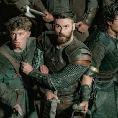 The Last Kingdom season 4 Young Uhtred, Finan and Sihtric