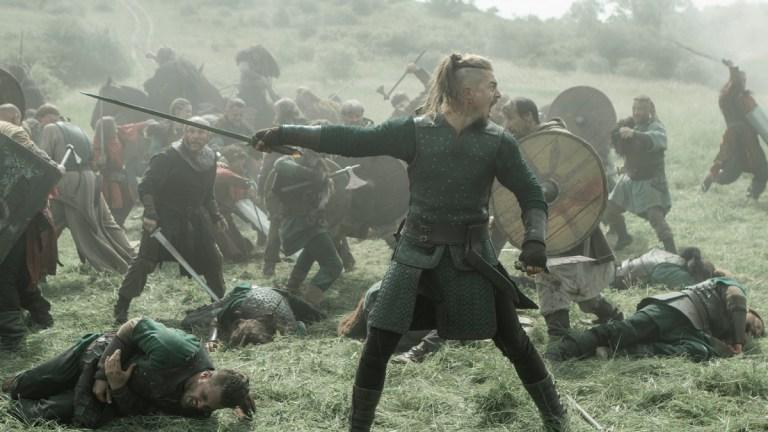 The Last Kingdom season 4 Uhtred in battle episode 4