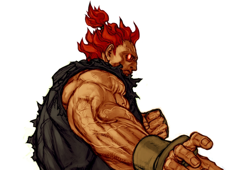 Akuma from the Street Fighter series