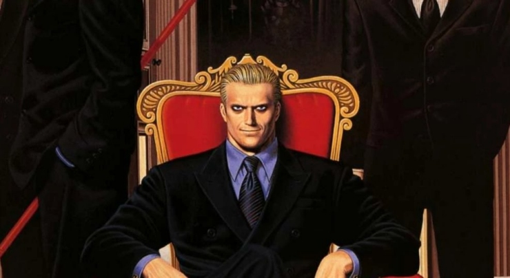 Geese Howard from the Fatal Fury series