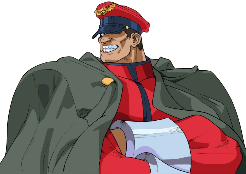 M. Bison from the Street Fighter series