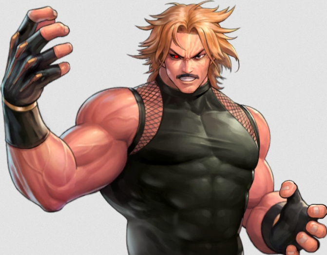 Rugal Bernstein from the King of Fighters series