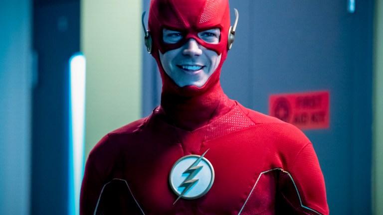 Grant Gustin as Barry Allen on The Flash Season 6