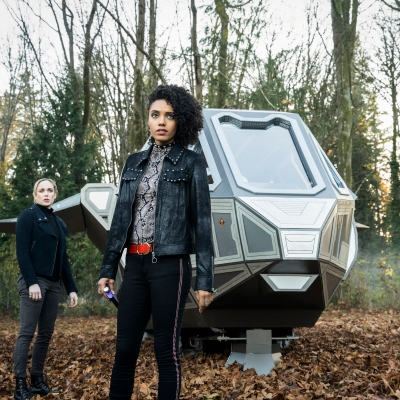 Maisie Richardson-Sellers as Charlie on Legends of Tomorrow
