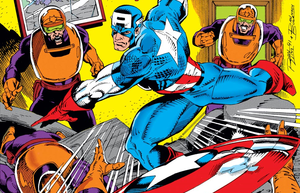 Marvel's Captain America by Mark Gruenwald and Ron Lim