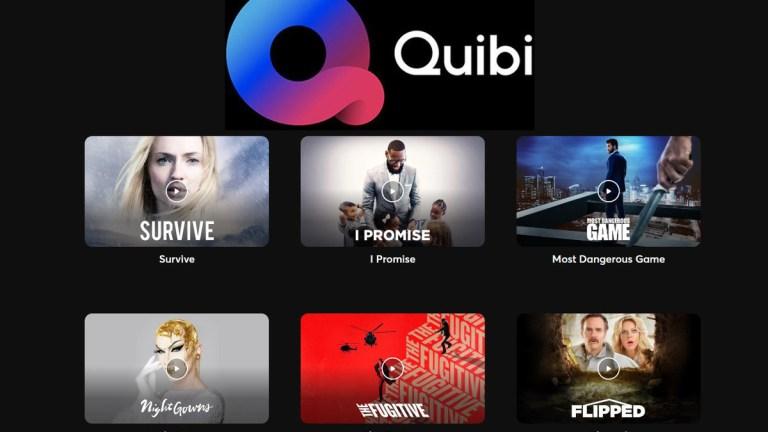 Quibi Streaming platform
