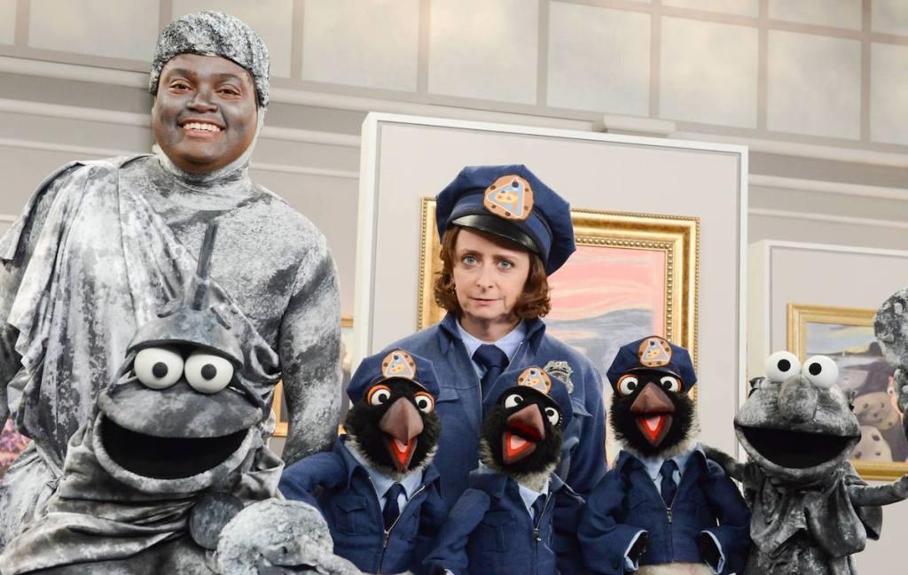 Ladrón de galletas de Sesame Street