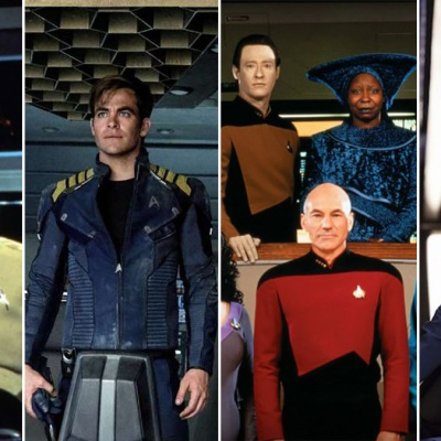 Star Trek Movies and Shows
