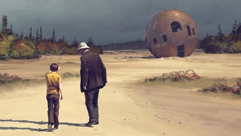 Tales from the Loop: Sci-Fi Paintings Become Small Town Drama ...