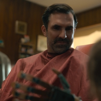 Paul Schneider as George in Tales from the Loop