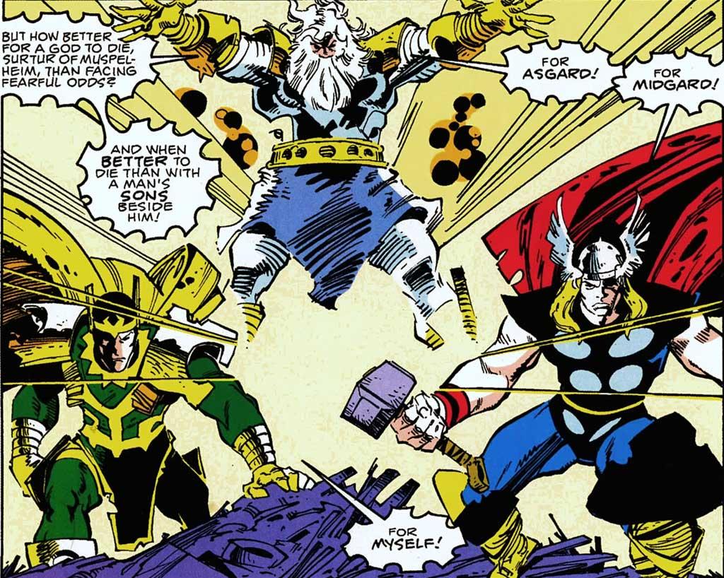 Walt Simonson's Thor for Marvel Comics