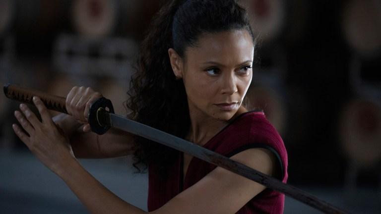 Thandie Newton as Maeve on Westworld Season 3