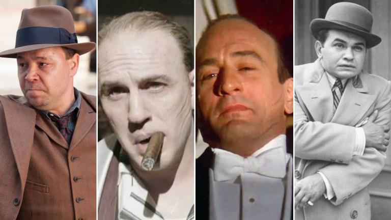 Al Capone Actors Robert De Niro Tom Hardy and Stephen Graham