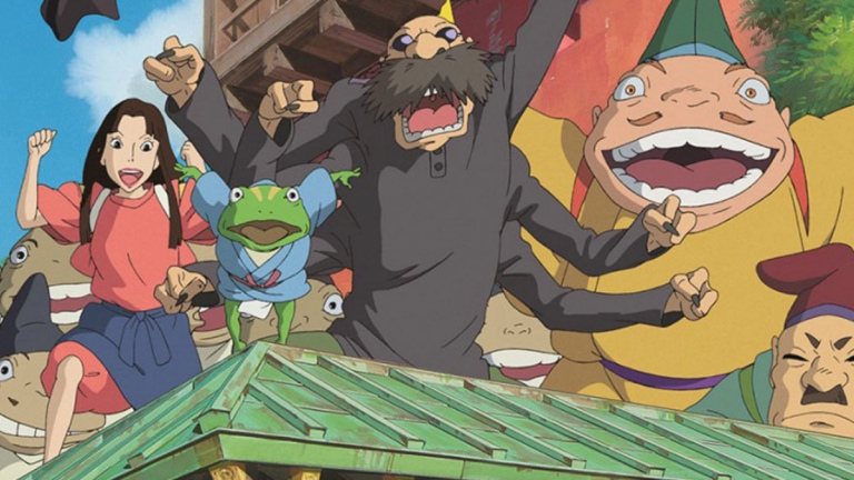 Best Anime on HBO Max Spirited Away