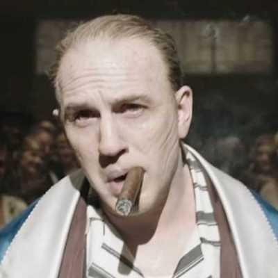 Tom Hardy as Al Capone