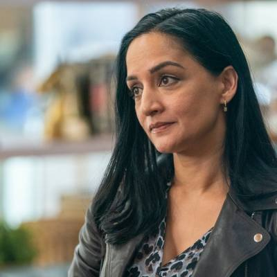 Archie Panjabi as Fiona on HBO's Run