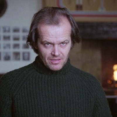 Jack Nicholson Social Distancing in The Shining
