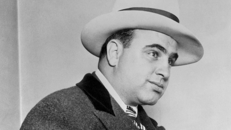 Gangster Al Capone's Hat