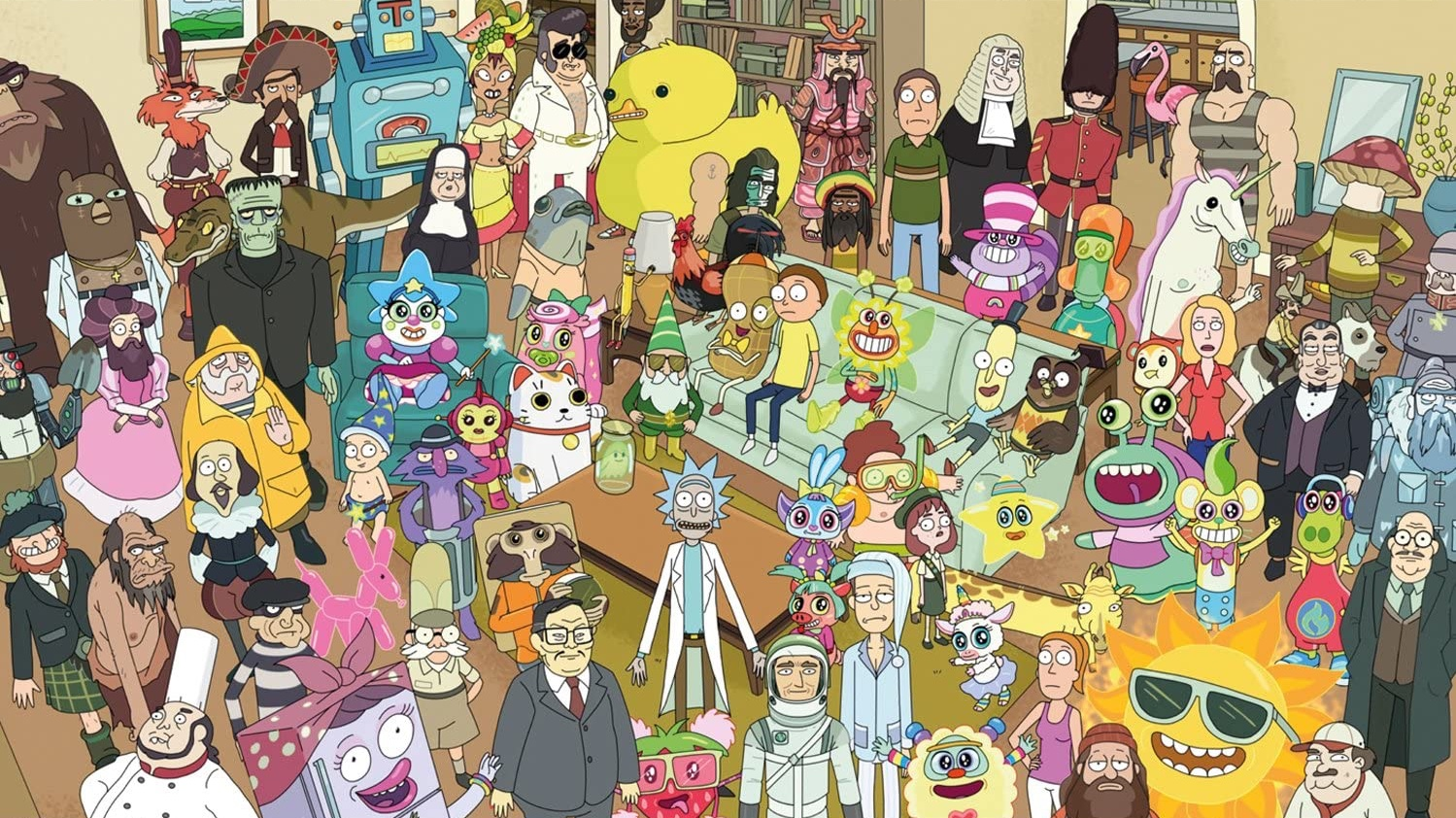Rick And Morty A Guide To Every Voice Actor Den Of Geek