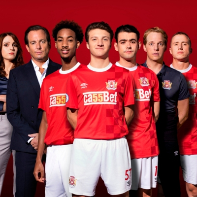 The First Team cast header
