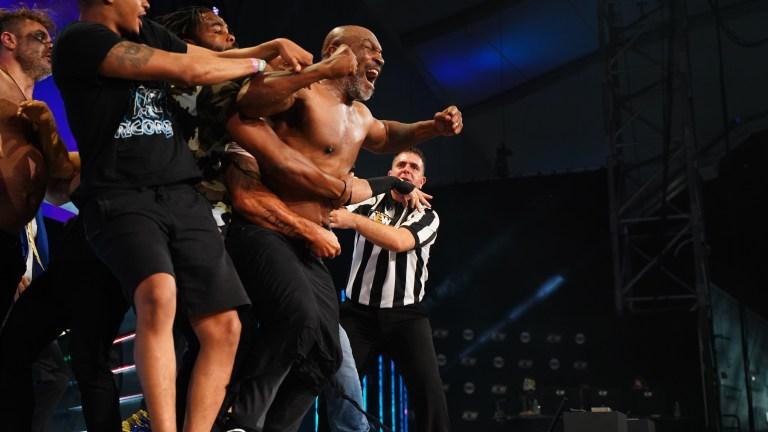 Mike Tyson on AEW Dynamite