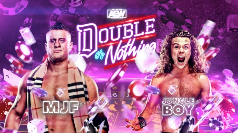 MJF vs. Jungle Boy at AEW Double or Nothing 2020