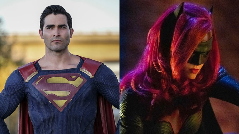 Tyler Hoechlin as Superman and Ruby Rose as Batwoman
