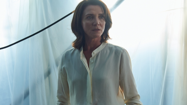 Michelle Fairley as Marian Wallace in Gangs Of London episode 6