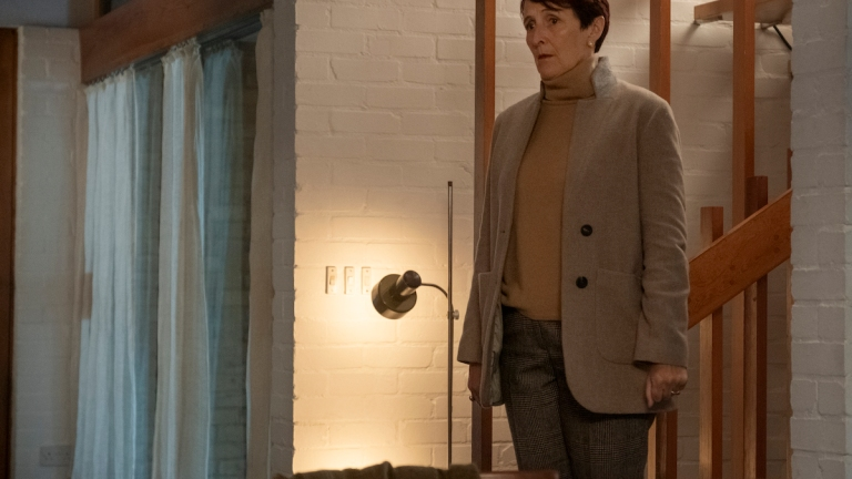 Fiona Shaw in Killing Eve Season 3