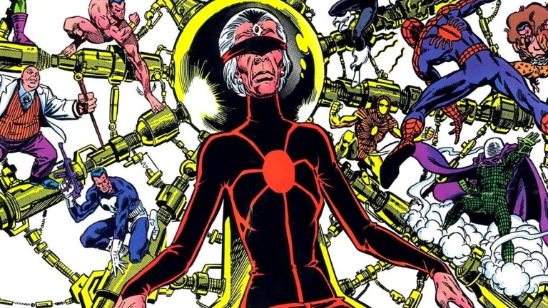 Madame Web on the cover of The Amazing Spider-Man Index #9