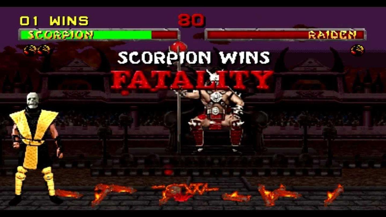 mortal kombat x scorpion fatality