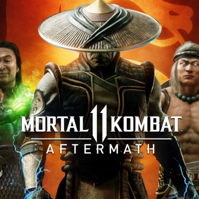 Mortal Kombat 11: Aftermath Starring Shang Tsung, Raiden, and Liu Kang