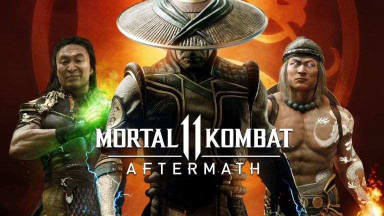 Mortal Kombat 11: Aftermath Starring Shang Tsung, Raiden, and Liu Kang