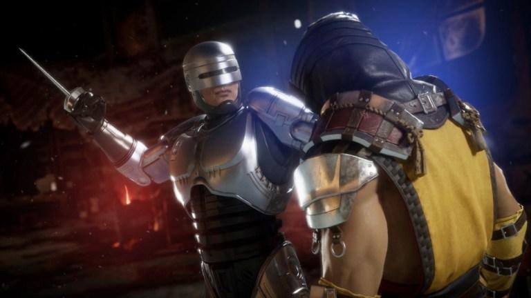 RoboCop in Mortal Kombat 11: Aftermath