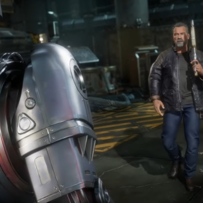 RoboCop vs. Terminator in Mortal Kombat 11: Aftermath