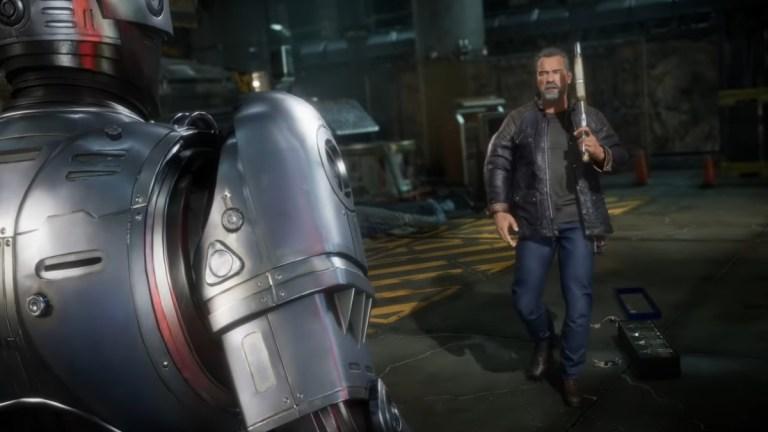 RoboCop vs. Terminator in Mortal Kombat 11: Aftermath