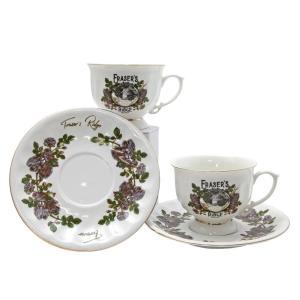 Outlander Fraser's Ridge Tea Cup and Saucer Set