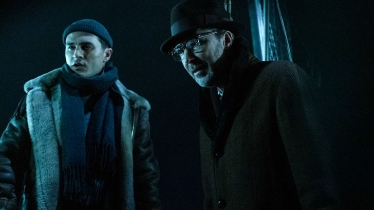 Aidan Gillen and Michael Malarket in Project Blue Book Season 2