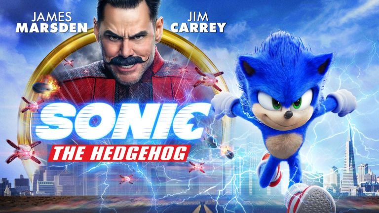 Sonic the Hedgehog Blu-Ray Art