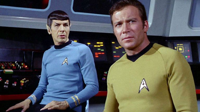 Kirk and Spock in Star Trek: The Original Series