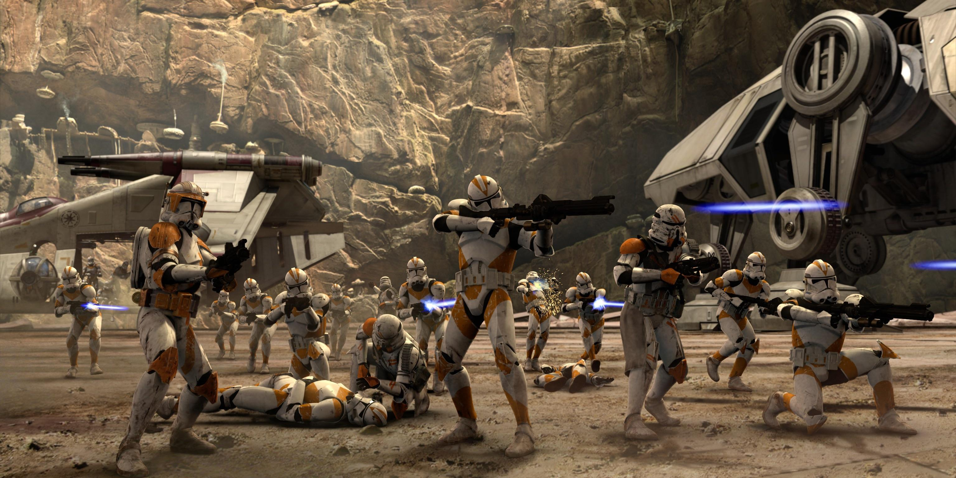 Star Wars How Many Years Did The Clone Wars Last Den Of Geek