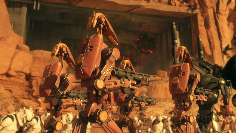 Star Wars: The Clone Wars Geonosis